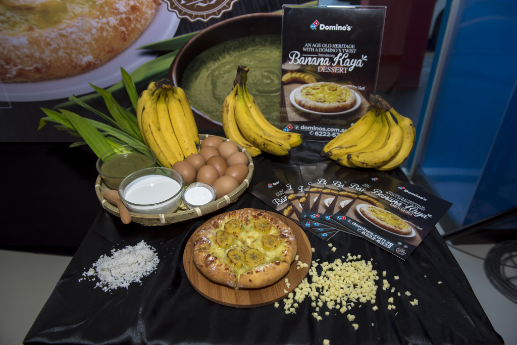 Banana Kaya Dessert, by Domino's.  Photo Credit: The Influencer Network.