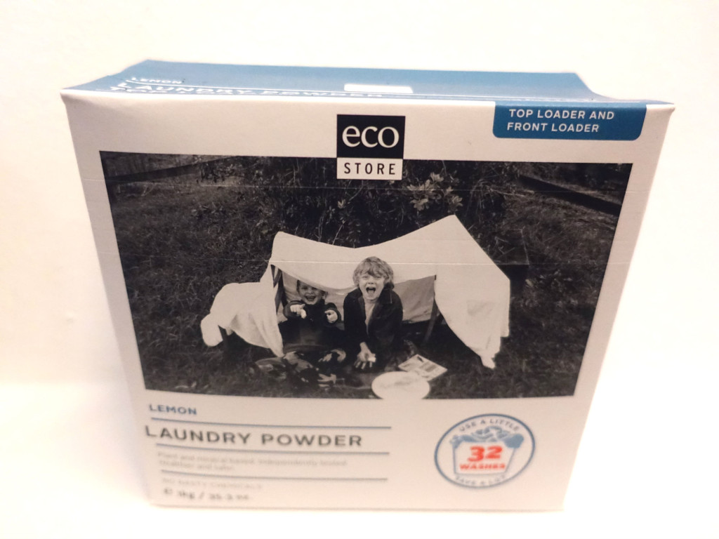 The packaging for EcoStore products is friendly to the environment.