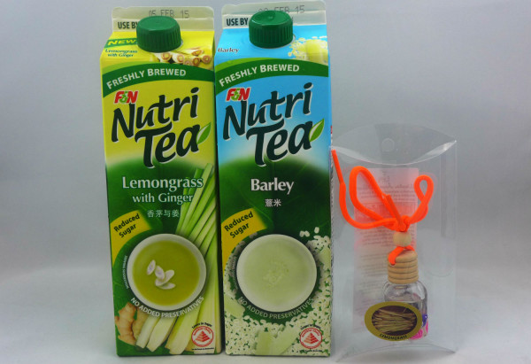 This festive season, restore your body's natural balance with F&N NutriTea.