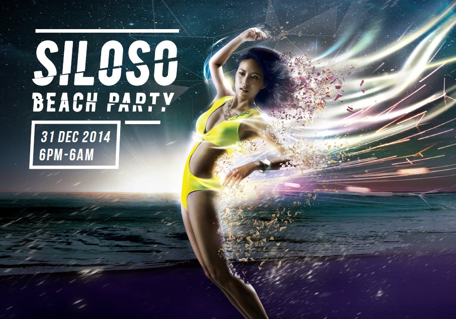 The Siloso Beach Party is Asia's largest coutdown bash. (Credit: Siloso Beach Party).