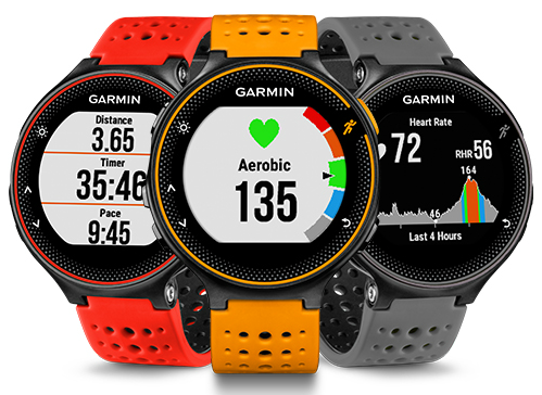 The Forerunner 235 is a sports watch with smartwatch capabilities. [Photo from Garmin Singapore]
