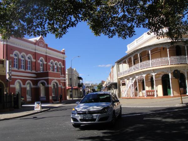 The iconic Fremantle railway station near Perth, Australia