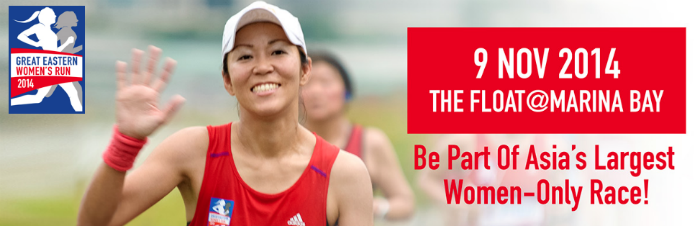 Singapore's best female athletes will compete against their peers in the GEWR 2014's new category.