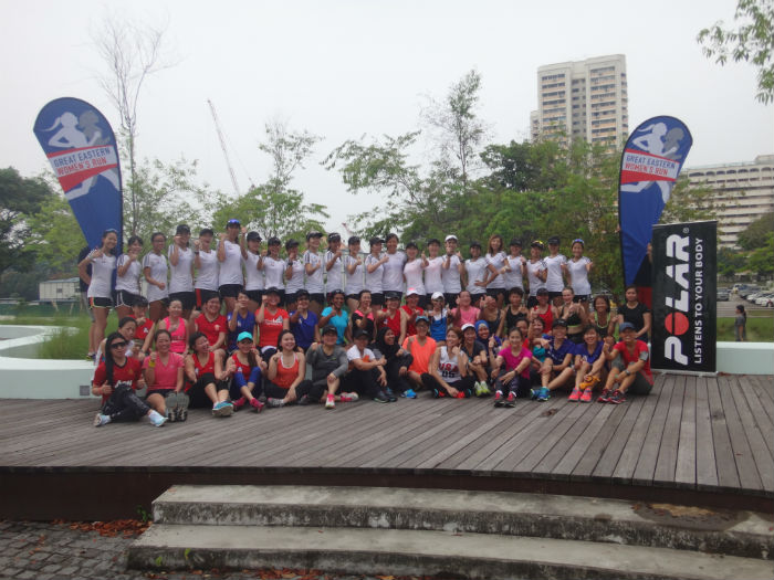 A group picture together after the Polar Training Run!