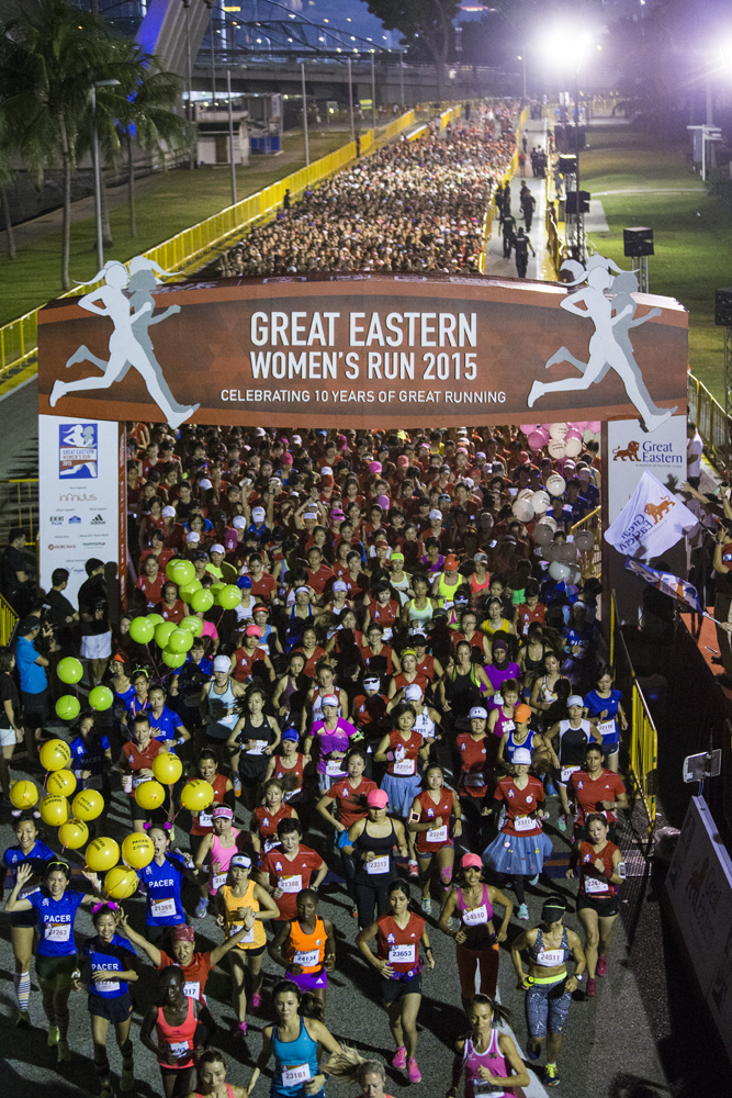 Great Eastern Women's Run is back. (Credit to Great Eastern Women's Run)