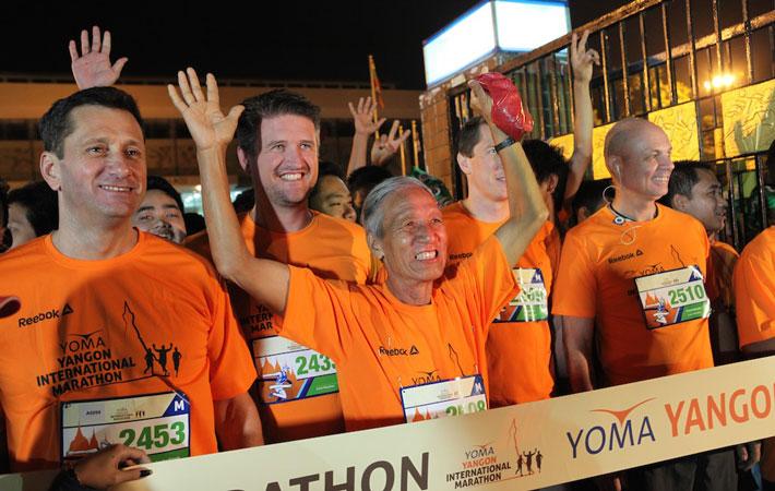 Experience beautiful Myanmar for yourself. Run the Yoma Yangon International Marathon 2015. (Credit: YYIM).