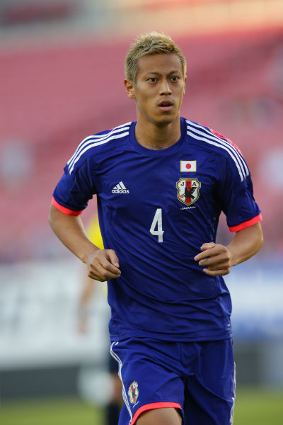 Keisuke Honda will be in Singapore next month for Japan.