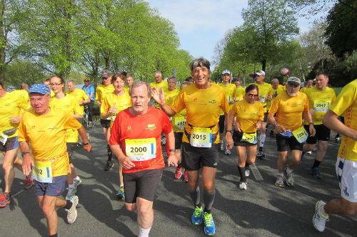 The Hannover Marathon, 2013 (Picture courtesy of Anton Reiter)