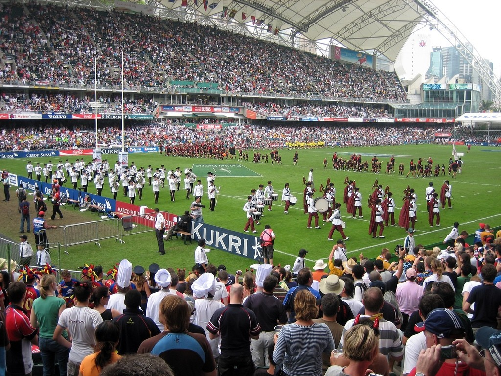 The organisers hope to take the rugby action beyond the pitch. [Photo from Wikipedia]