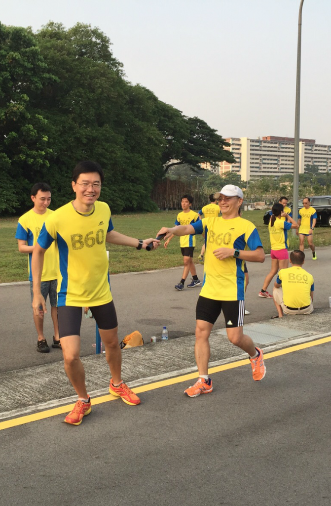 Run for a good cause at the Believe B60 Charity Run 2016.