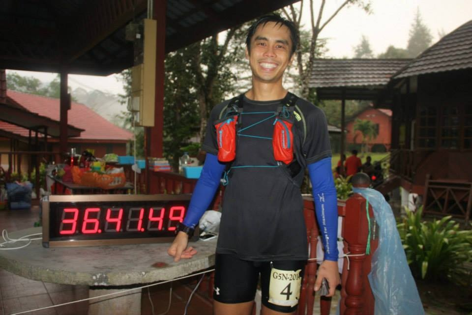 Singaporean Henry Yang successfully completed the gruelling G5N event in Malaysia.
