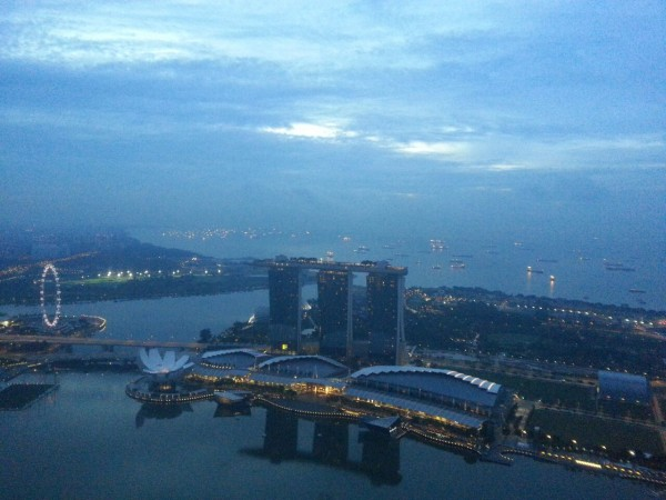 Many found the view from the top rewarding. Credit: Ethan Teo.