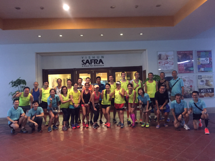 Safra Yishun Running Club organised a Sports Clinic last Sunday.