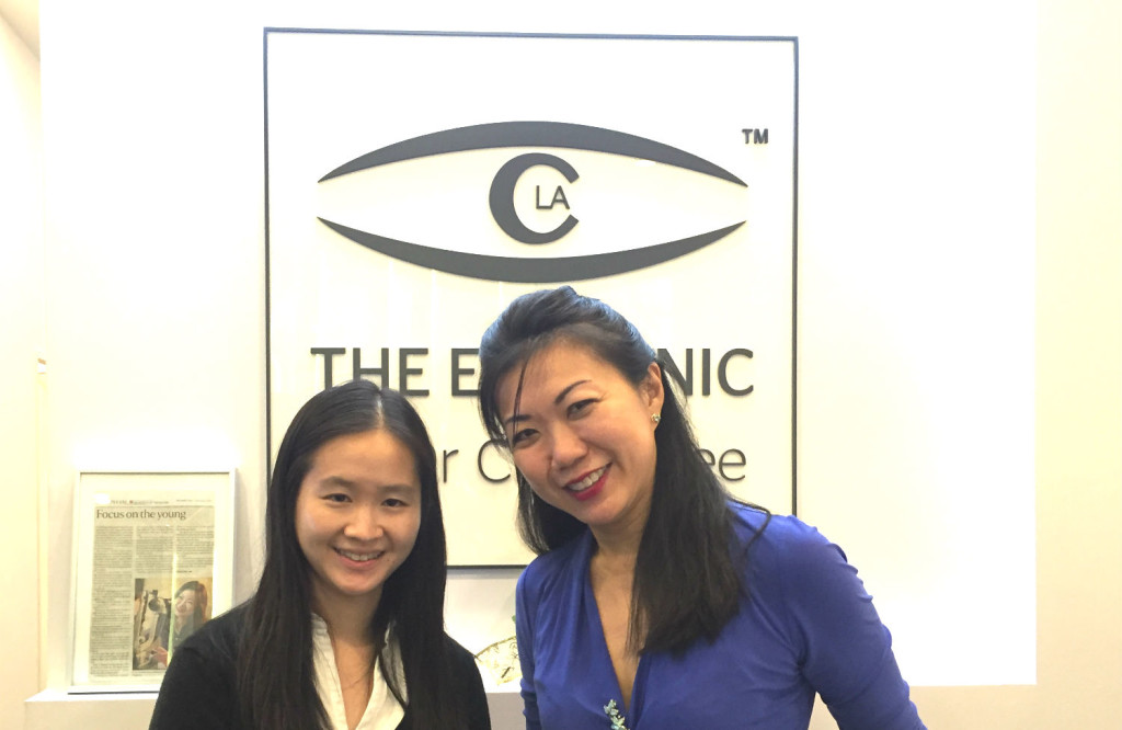 With Dr Cheryl Lee.