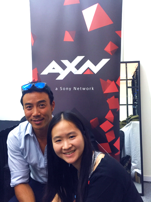 Allan Wu is the host of The Amazing Race Asia.