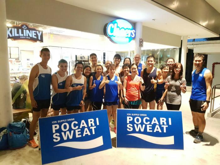 Pocari Sweat Singapore organised a running clinic with marathoner Mok Ying Ren.