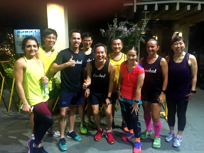 We took part in the first Coached Run Session last Tuesday.