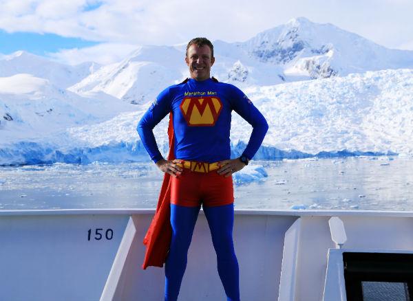 En route to Antarctica, for the Antarctic Ice Marathon. (Image Credit: David Yu)