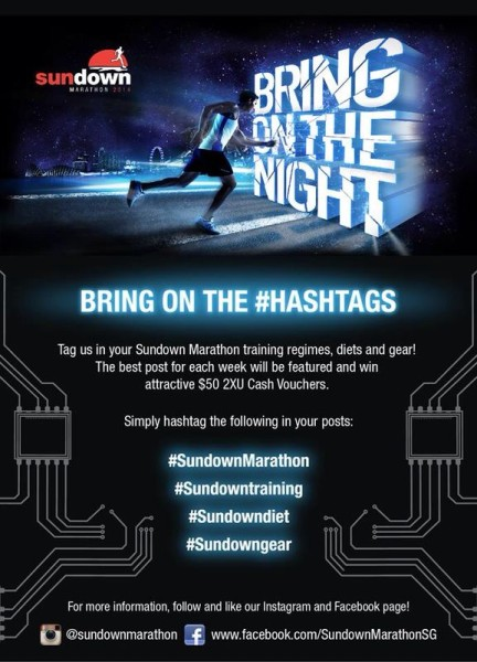 Sundown Marathon 2014: Bring on the Hashtags campaign