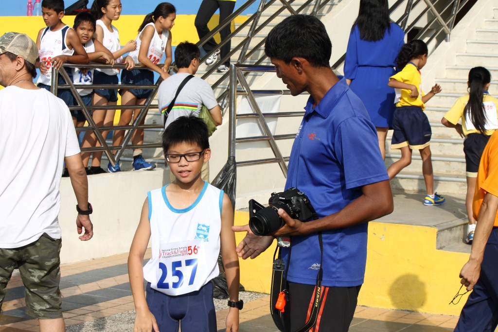 Fabian targets steady progress and improvement from his proteges. [Photo credit: FWCC Pte Ltd/Shawn Wee]