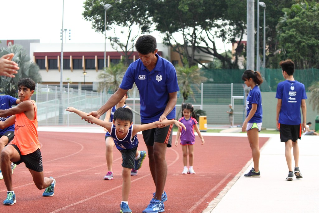 A coach is the best person to tell you what is wrong with your running, according to Fabian. [Photo credit: FWCC Pte Ltd/Shawn Wee]