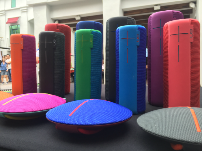 UE launched their new speakers.