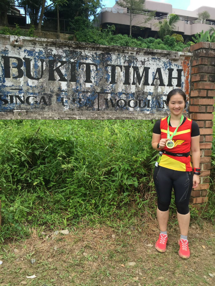 We ended the run at the old Bukit Timah Railway Station.