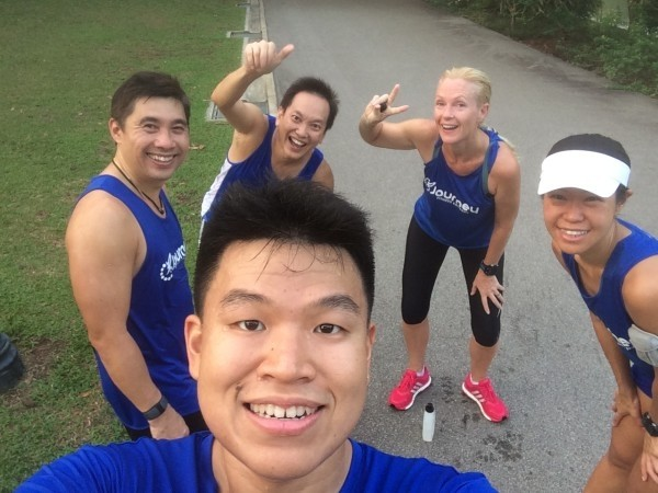 Weekly Tuesday Fartlek with Journey Fitness Company.
