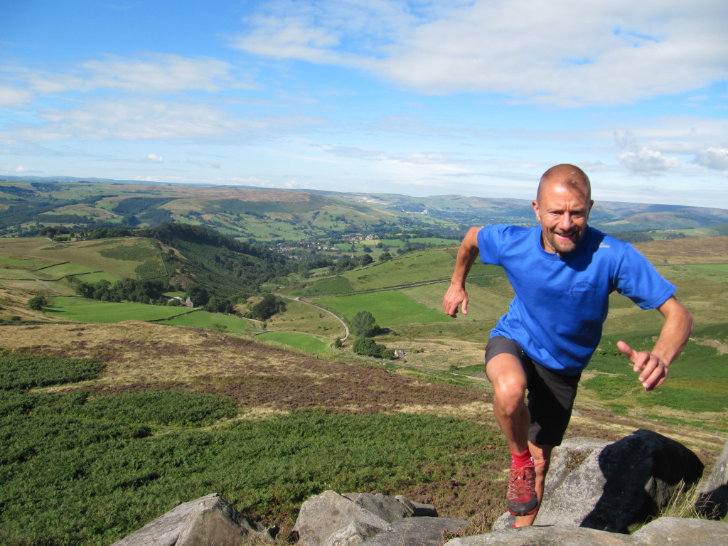 Strength training by doing hill reps is a great way to improve as a runner. (Photo by fellrunningguide.co.uk)