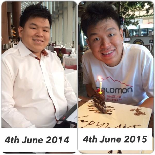 Ng's Before and After photos.