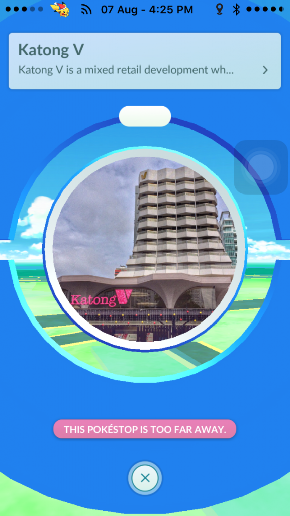PokeStops are a great way to find out more about Singapore.