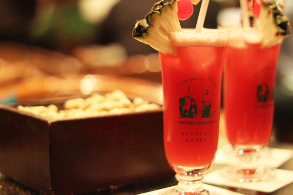 The real Singapore Sling from Long Bar at Raffles Hotel. Photo: sumabeachlifestyle.com