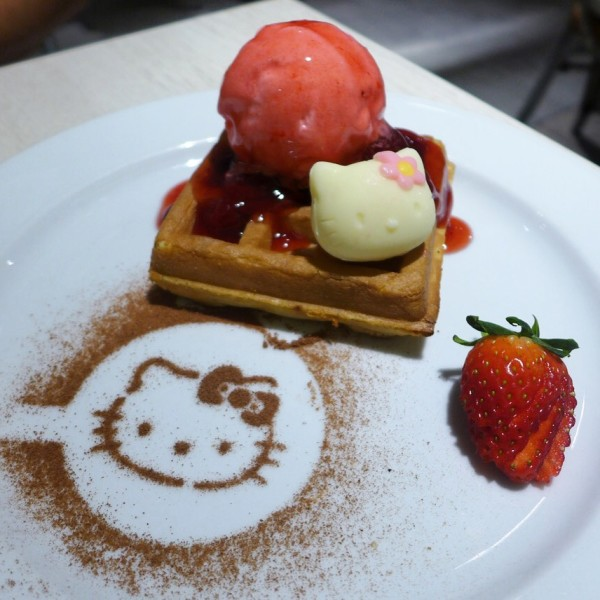 Desserts can also make you into a happier person.