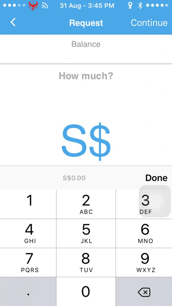 Kashmi lets you send and request money.