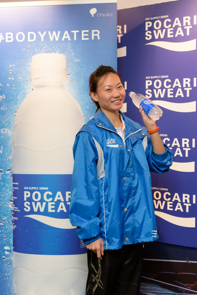 Pocari Sweat will support Neo on her road to the Olympics. [Photo by Pocari Sweat].