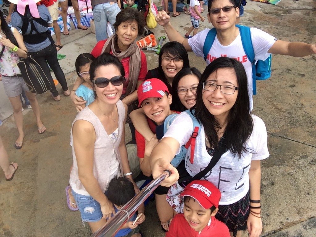 May Poh and her family celebrates family bonding during the SG50 Jubilee Weekend.