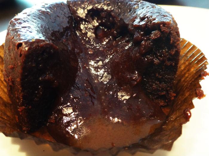Salted Caramel Chocolate Lava Cake.