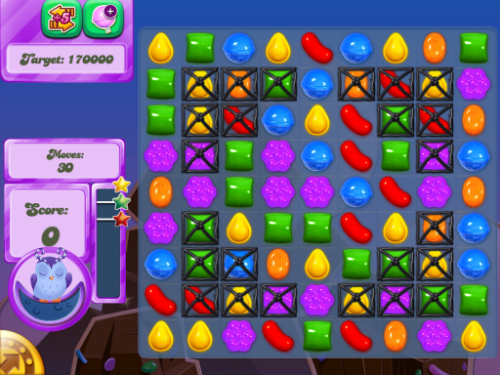 Candy Crush Dreamworld Level 47.