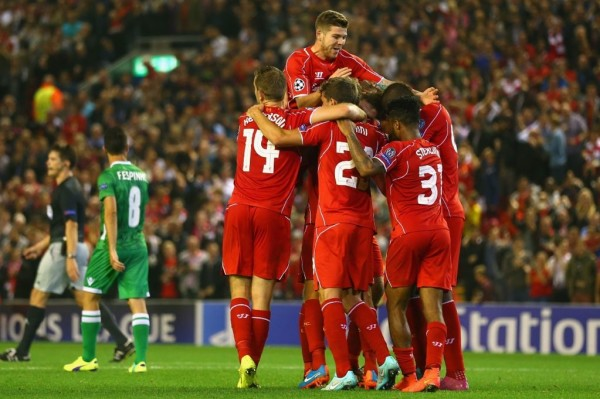 Liverpool have a great chance of getting into the fourth and final Champions League slot. Photo: www.mirror.co.uk