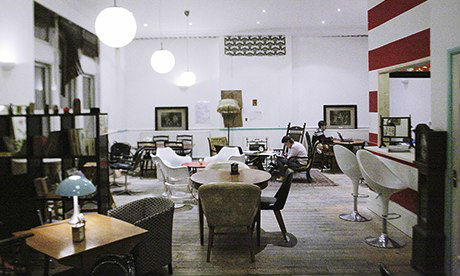Ziferblat Cafe in London. (Image from The Guardian).