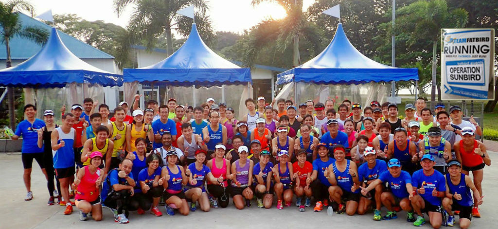 Joining a running club offers many benefits. (Image: Team Fatbird).