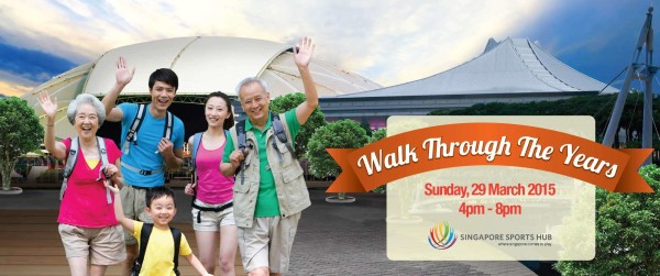 FairPrice Walks With U is back in 2015. Photo: walkswithu.activecm.net