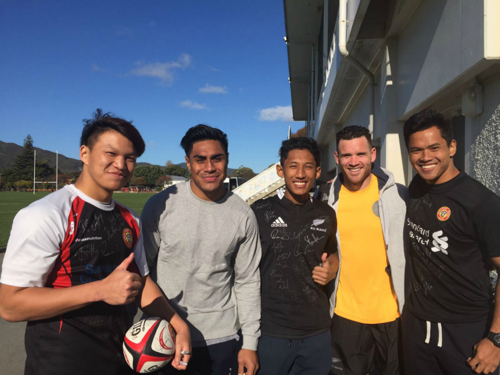 Marcus, Malakai, Fekitoa, Solihin, Ryan, Crotty, Zaki (Left to Right)