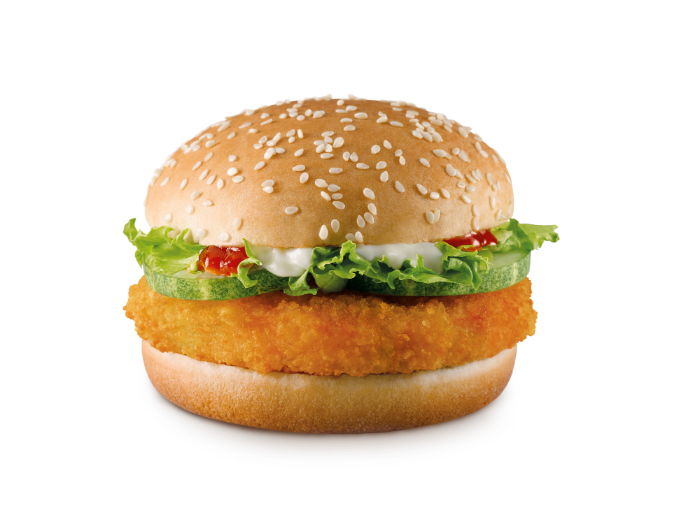 McDonald's Veggie Crunch Burger - Hi Res