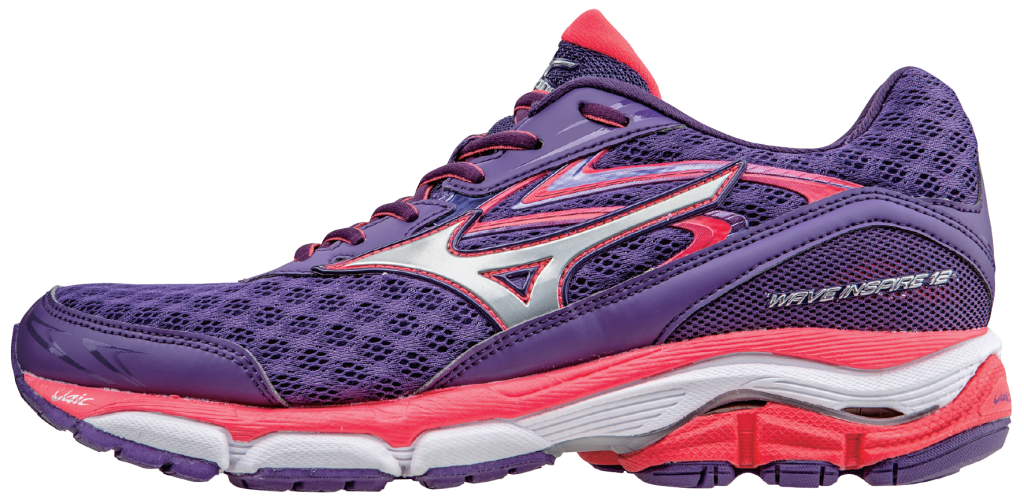 Women's version of the new Mizuno shoes.