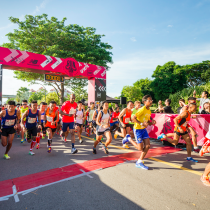 The run flags off. [Credits to New Balance Run On Singapore 2016]