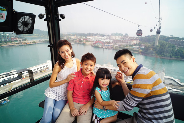 Go on a joyous Cable Car Ride this Easter. Credit: Mount Faber Leisure Group.