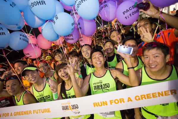 Happy pacers at RUN350. Photo: RUN350.