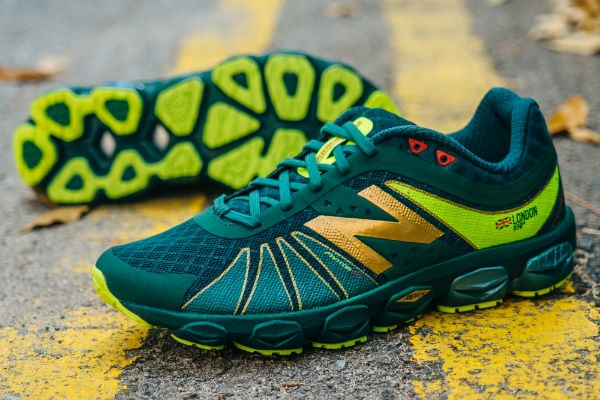 Get your hands on the 'London' edition of these limited edition New Balance shoes, through Prischew.com.
