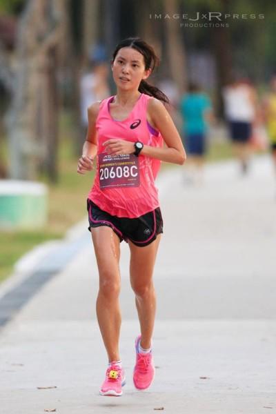 Rachel See at the 2014 Newton Challenge. Credit: John Tan.